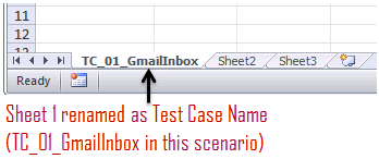 Adding Data Sheet in Excel Workbook